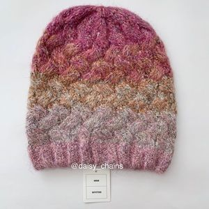 Urban Outfitters Cable Knit Slouch Beanie